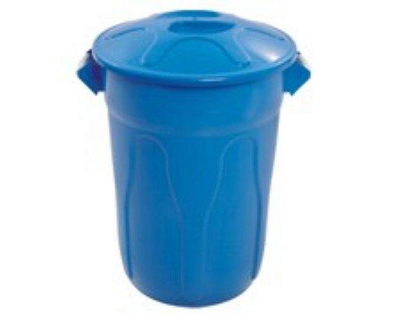 cesto 40lts azul redondo c/tmp