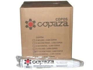 Copo Descartavel 150ML Copaza branco 2500 unids