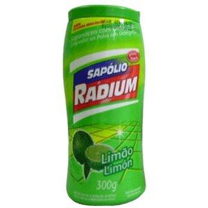 Sapólio Pó radium Limão 300 grs