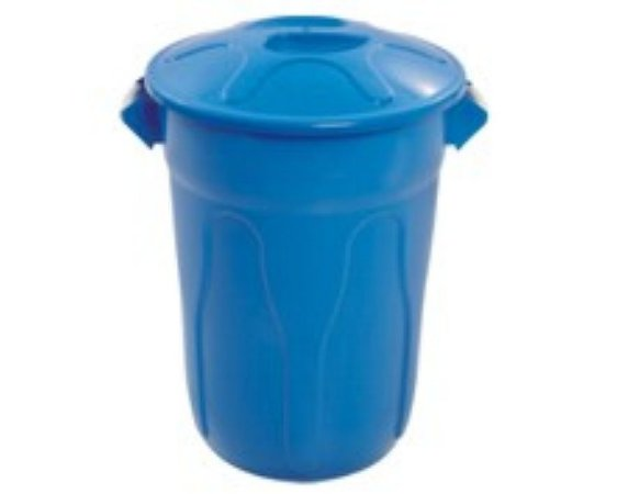 cesto 20lts azul redondo c/tmp