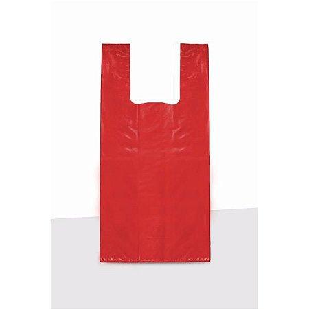 Sacola grossa 50x70 Vermelha 1kg