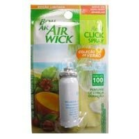 Refil Click Spray Bom Ar Brisa Tropical 12ml