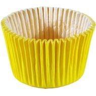 Forma papel CupCake Amarela c/45 unids