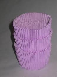Forma papel Cupcake Lilás c/45 unids