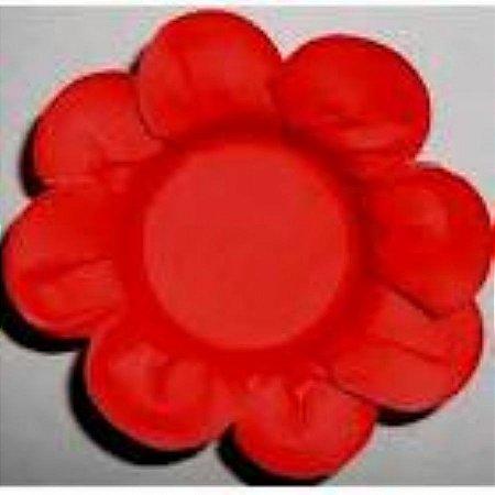 Forma Papel Cartão Flor Vermelho c/50 unids (consultar disponibilidade antes da compra)