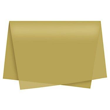 Papel Seda Ouro c/ 50 unids