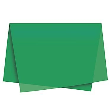Papel Seda Verde (cromus) c/ 100 unids