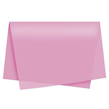 Papel Seda Rosa Escuro c/ 100 unids
