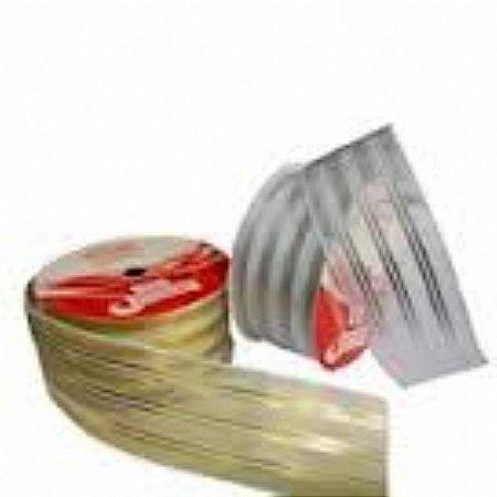 Fita Decorada Aramada 3,8cmx10mts Ouro (natal) unid