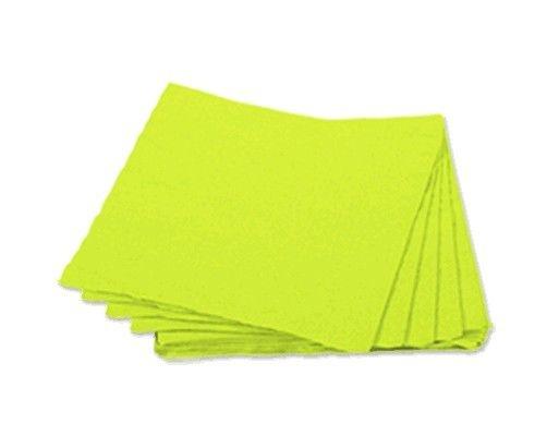 Guardanapo 25x25 Verde Limão Fl Dupla 20 unids (consultar disponibilidade na loja)