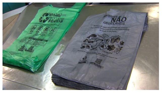 Sacola Biodegradável 48x55 Cinza c/500 unids
