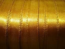 Fita Cetim nº0 Dourada (4mm) 100mts unid (consultar disponibilidade na loja)
