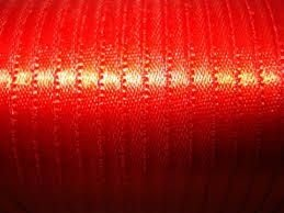 Fita Cetim nº0 Vermelha( 4mm) 100mts unid (consultar disponibilidade na loja)