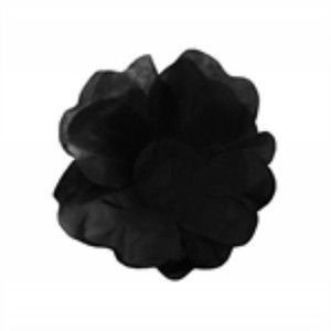 Forma Papel Seda Flor Preta c/40unids (consultar disponibilidade antes da compra)