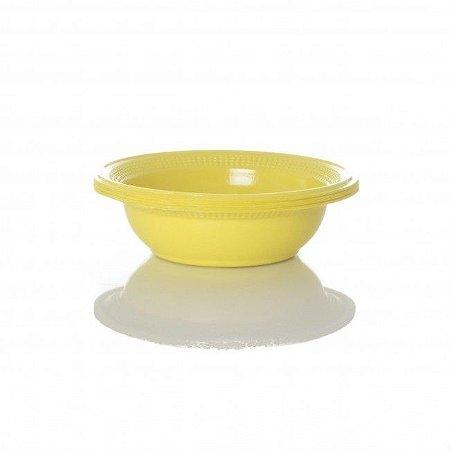 Cumbuca Plastica Pf15cm Amarelo Trik Trik c/10 unids (consultar disponibilidade antes da compra)