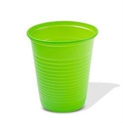 Copo Descartavel 200ML Verde Claro Trik Trik c/50 unids
