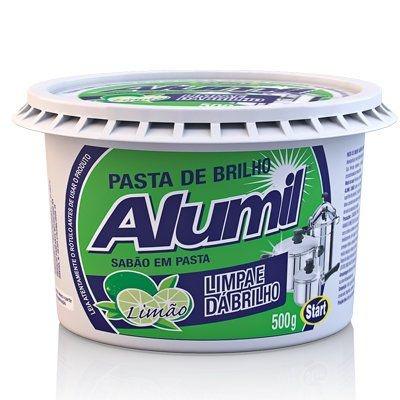 Pasta Brilho Alumil 500grs