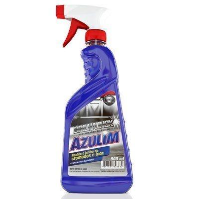 Brilho Inox Azulim 500ml (pulverizador) unid