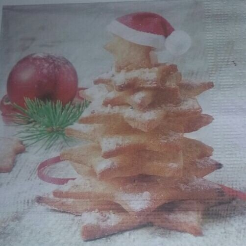 Guardanapo 33x33 Natal (Arvore de biscoito) Fl Tripla c/ 20 unids