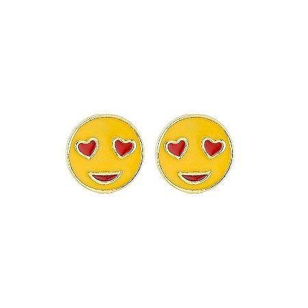 Brinco Emoji Apaixonado