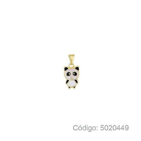 Pingente Panda com Resina