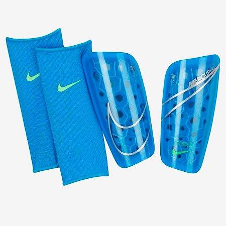 Caneleira Nike Mercurial - Azul