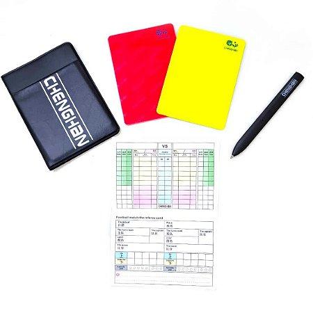 Conjunto com Cartões para Árbitro Ax Esportes - Y352
