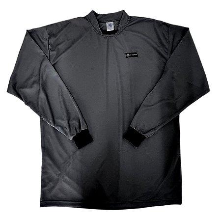 Camisa para Goleiro Preta AX Esportes Adulto Tam G