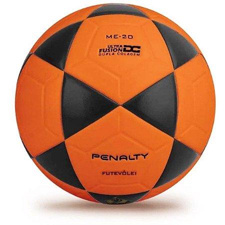 Bola de Futevôlei Penalty XXI - Laranja e Preto