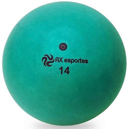 Bola de Iniciação Borracha AX Esportes Nº14 - Verde