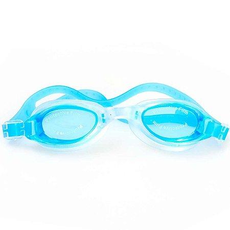 Óculos de Natação BLS Anti-Embaçante  Infantil Azul Claro