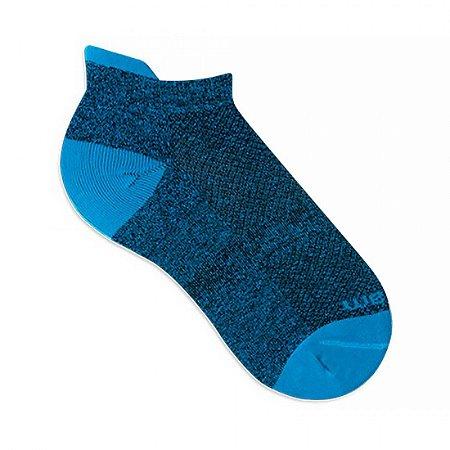Meia Sapatilha Rikam Feminina Microfibra 34-39 Azul