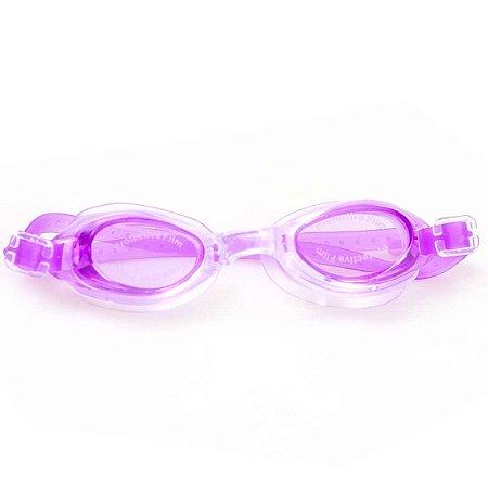 Óculos de Natação BLS Anti-Embaçante  Infantil Roxo