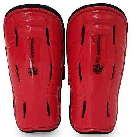 Caneleira de Futebol AX Esportes Adulto com Velcro