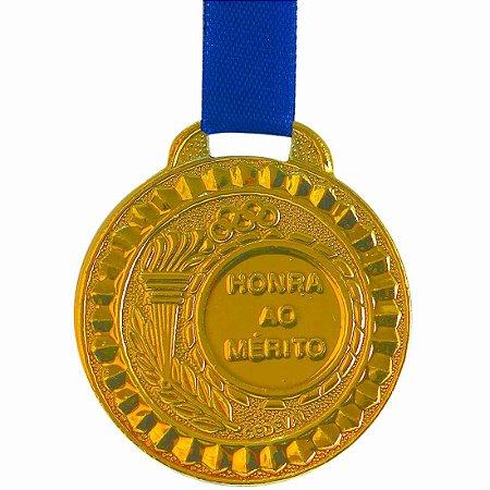 Medalha AX Esportes Prateada 44mm (Contém 10 unidades)