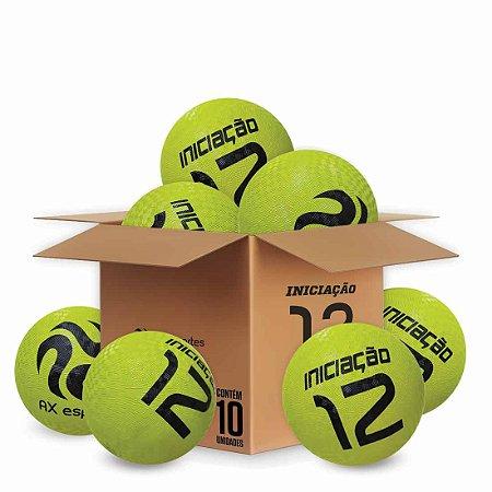 Pack c/ 10 Bolas de Iniciação AX Esportes Nº12