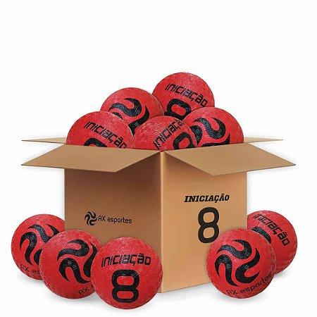 Pack c/ 10 Bolas de Iniciação AX Esportes Nº08