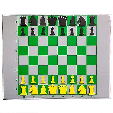 Jogo de Xadrez Parede Imantado