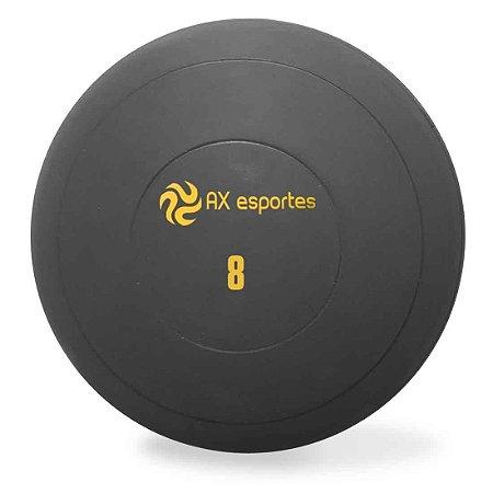 Bola Medicine Ball Kick Borracha 8 Kg AX Esportes