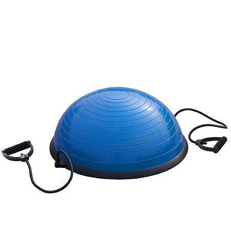 Meia Bola Bosu Pilates AX Esportes Com Alças