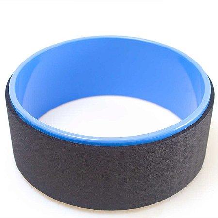 Roda Yoga e Pilates (Yoga Wheel) AX Esportes Azul - Y366