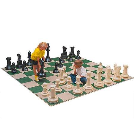 Jogo de Xadrez Gigante para Quadra