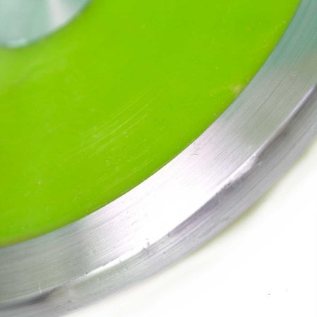 Disco De Arremesso em Aço 2Kg Verde AX Esportes
