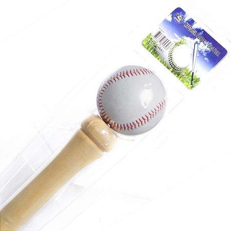 Kit Taco De Baseball em Madeira e Bola YW273