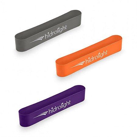 Kit c/ 3 Mini Bands Eslásticos Hidrolight