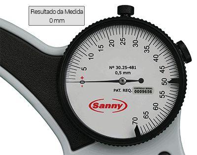 Adipômetro/Plicômetro Científico Leitura Direta Sanny (Cod.: AD1011LD)