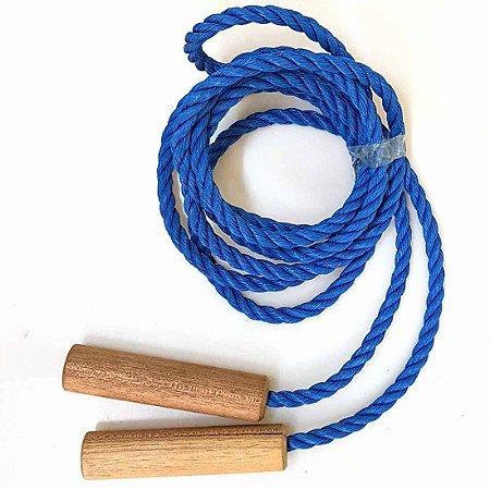 Corda de Pular em Nylon 2,5 mt Cabo em Madeira AX Esportes