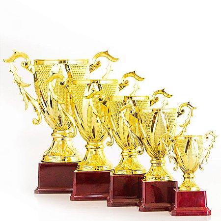 Troféu AX Esportes Graal 18,5cm - 3º Colocado - FA477