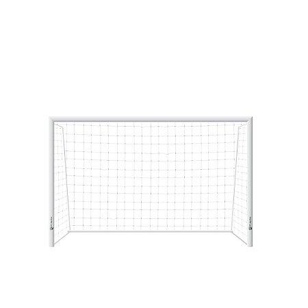 Trave de Futsal Desmontável AX Esportes Tubular com Requadro e Buchas (par) - Ref.1185