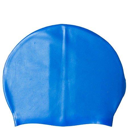 Touca Natação em Silicone AX Esportes Adulto Azul - OA336